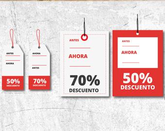 Etiquetas diseño | Estratedi, Empresa de Marketing en Las Rozas